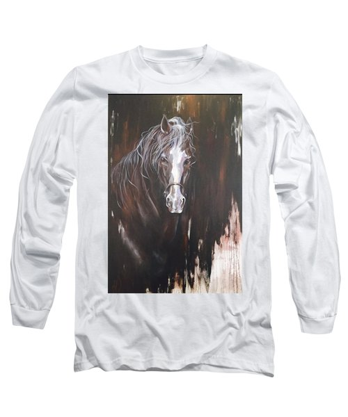 Standing Firm Long Sleeve T-Shirt by Heather Roddy
