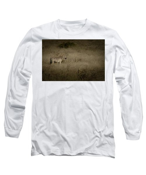 Long Sleeve T-Shirt featuring the photograph Standing In The Light by Roger Mullenhour