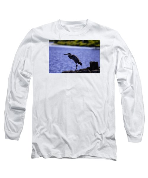 Standing On The Dock Of The Bay Long Sleeve T-Shirt
