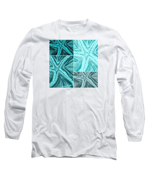 Starfish Pop Art Long Sleeve T-Shirt
