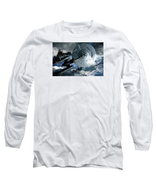 Star Trek Into Darkness, Original Mixed Media Long Sleeve T-Shirt