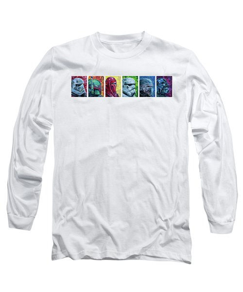 Star Wars Helmet Series - Panorama Long Sleeve T-Shirt