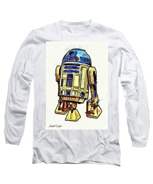 Star Wars R2d2 Droid - Da Long Sleeve T-Shirt