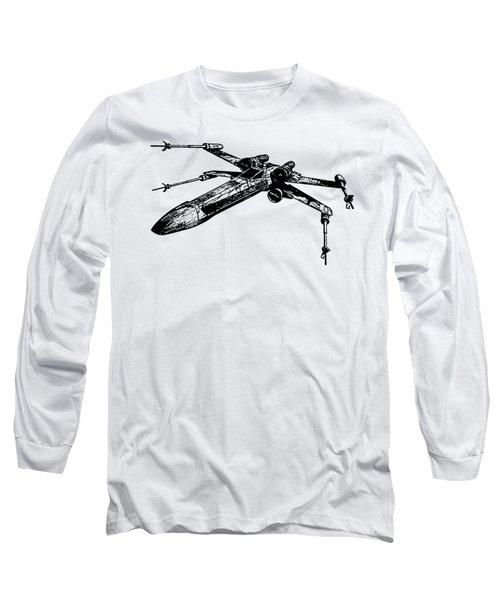 Star Wars T-65 X-wing Starfighter Tee Long Sleeve T-Shirt