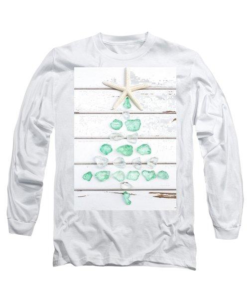 Starfish Christmas Tree Long Sleeve T-Shirt