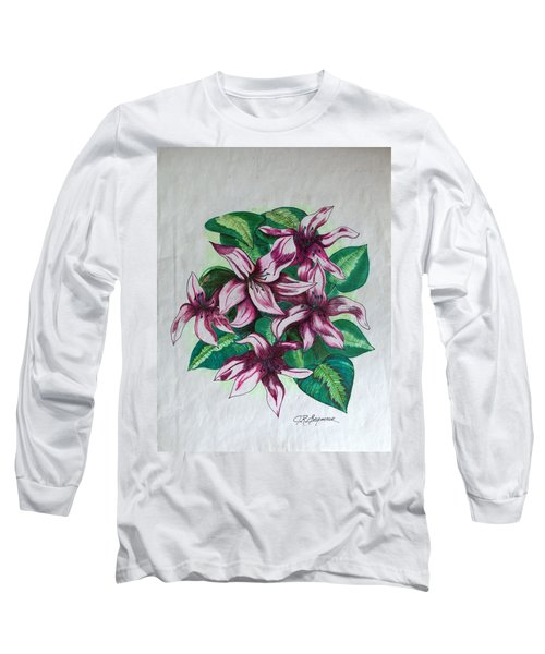 Stargazers Blooming Long Sleeve T-Shirt by J R Seymour