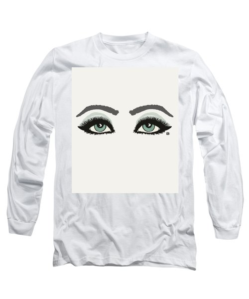 Starry Eyed Long Sleeve T-Shirt by Lisa Weedn