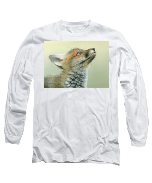Starry Eyes Long Sleeve T-Shirt by Mike Brown