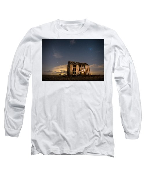 Starry Night At Dungeness Long Sleeve T-Shirt