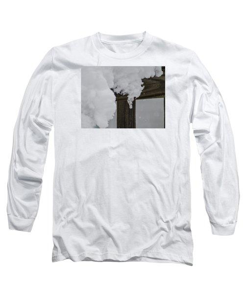 Start Of The Avalanche Long Sleeve T-Shirt by Deborah Smolinske