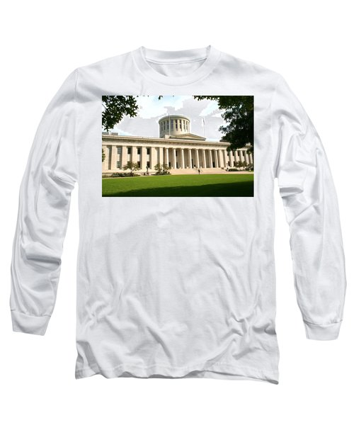 State Capitol Of Ohio Long Sleeve T-Shirt