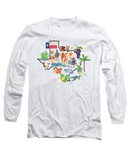 State Of Texas As I Know It Long Sleeve T-Shirt