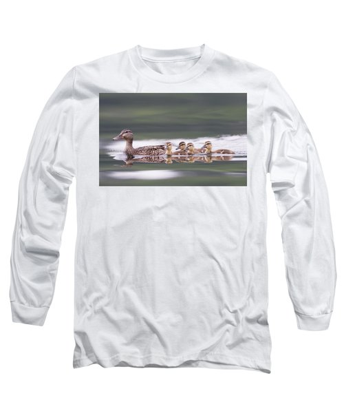 Stay In Line... Long Sleeve T-Shirt