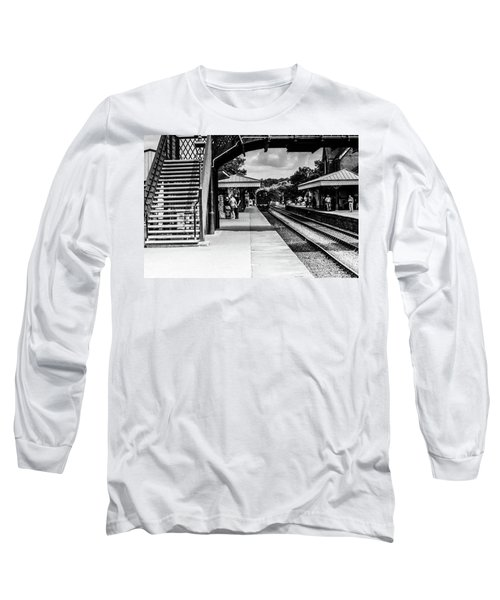 Steam Train In The Station Long Sleeve T-Shirt