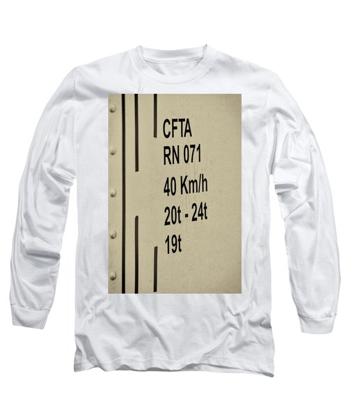 Long Sleeve T-Shirt featuring the photograph Steam Train Series No 30 by Clare Bambers