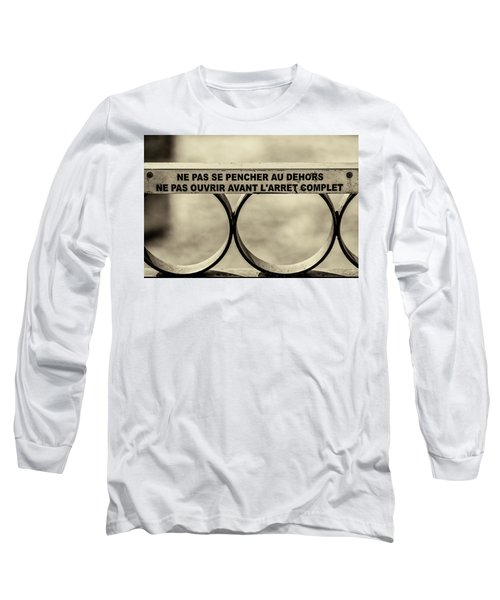 Long Sleeve T-Shirt featuring the photograph Steam Train Series No 32 by Clare Bambers