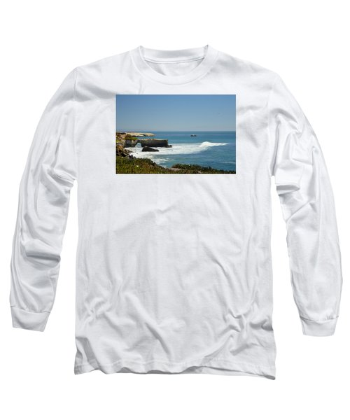 Steamer Lane, Santa Cruz Long Sleeve T-Shirt by Antonia Citrino