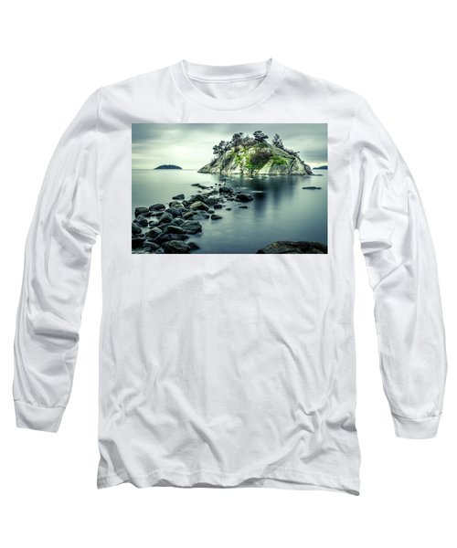Steely Day At Whytecliff Long Sleeve T-Shirt