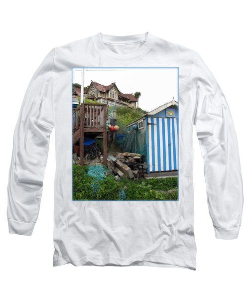 Steephill Cove Long Sleeve T-Shirt by Carla Parris