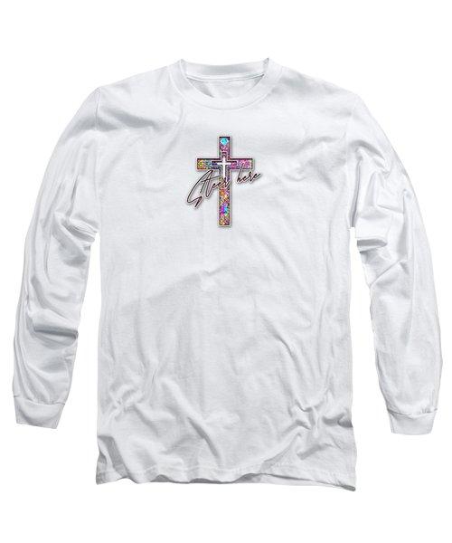 Steer Here Long Sleeve T-Shirt