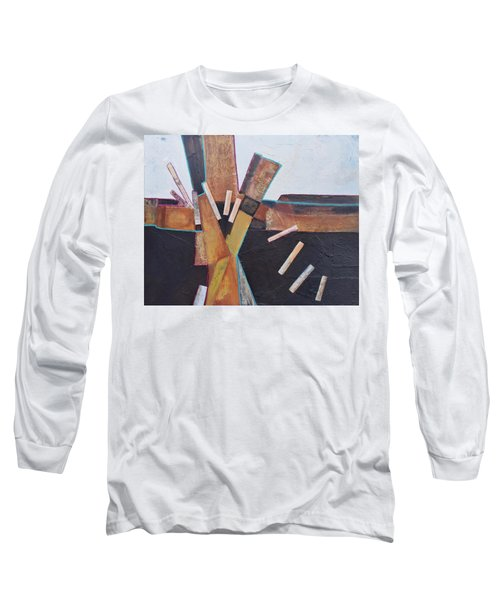 Stepping Up Long Sleeve T-Shirt by Nancy Jolley