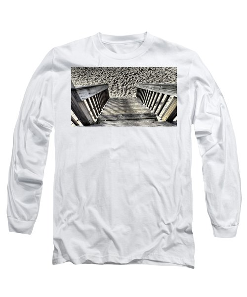 Steps To The Beach Long Sleeve T-Shirt