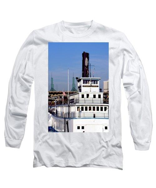 Sternwheeler, Portland Or  Long Sleeve T-Shirt