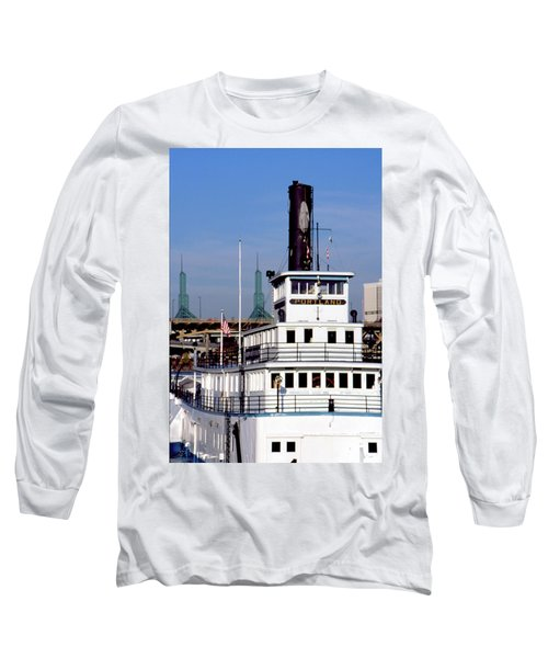 Sternwheeler, Portland Or  Long Sleeve T-Shirt