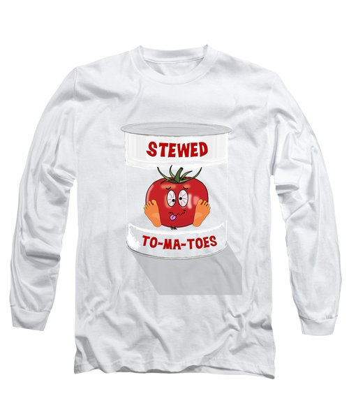 Stewed To Ma Toes Long Sleeve T-Shirt