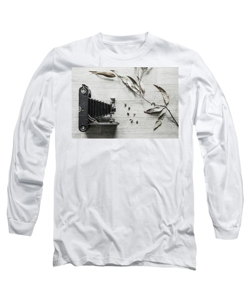 Still Life Number 1 Long Sleeve T-Shirt by Keith Hawley