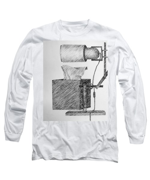 Still Life With Lamp And Tissues Long Sleeve T-Shirt