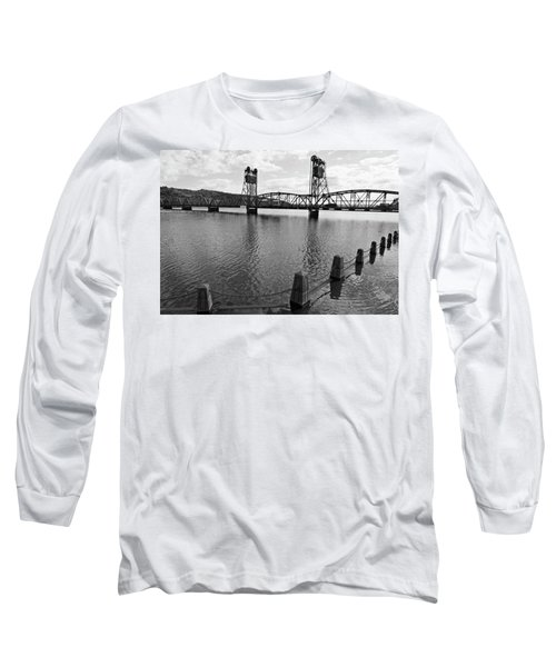 Still Waters In Stillwater Long Sleeve T-Shirt
