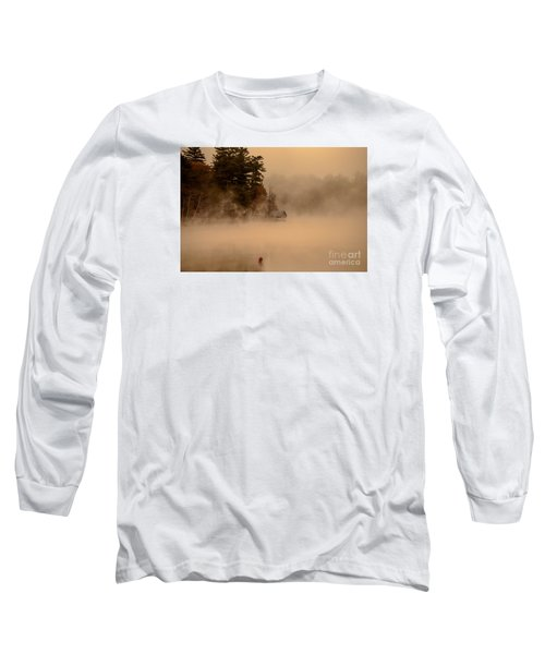 Stillness Of Autumn Long Sleeve T-Shirt by Sherman Perry