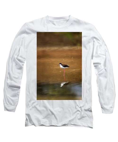 Stilt And Reflection Long Sleeve T-Shirt