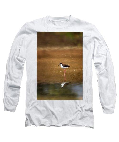 Stilt And Reflection Long Sleeve T-Shirt
