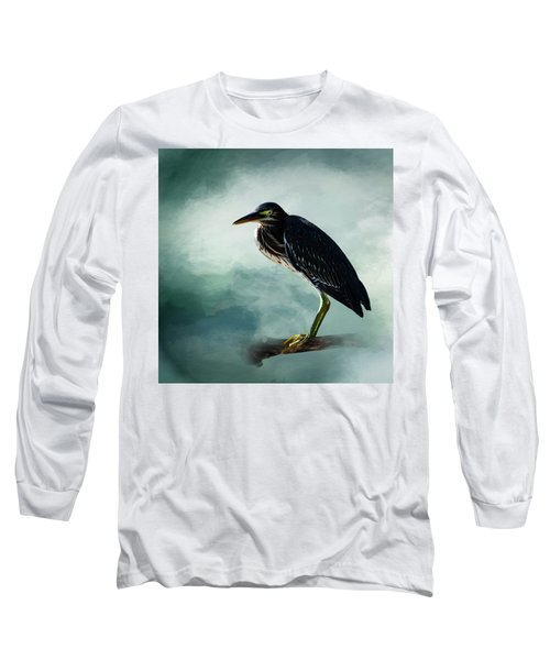 Stink Eye Long Sleeve T-Shirt by Cyndy Doty