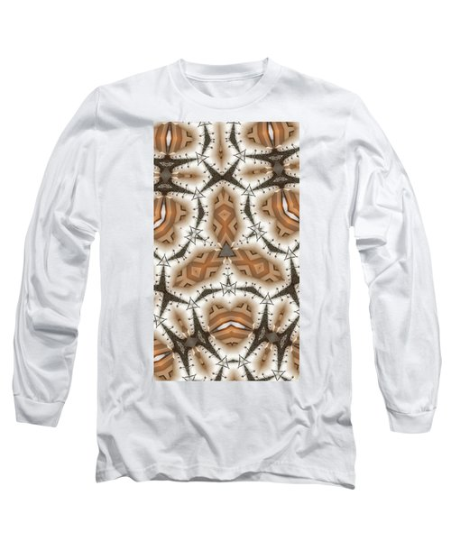 Long Sleeve T-Shirt featuring the digital art Stitched 2 by Ron Bissett
