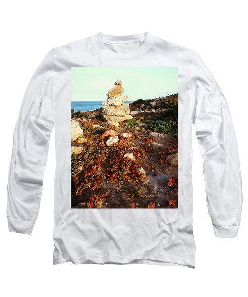 Stone Balance Long Sleeve T-Shirt