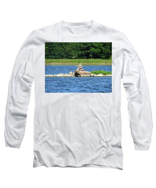 Stone Man Of  The Rift Long Sleeve T-Shirt