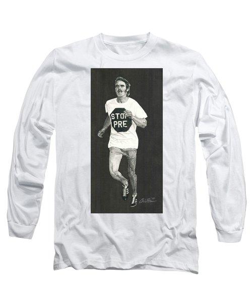 Stop Pre Long Sleeve T-Shirt