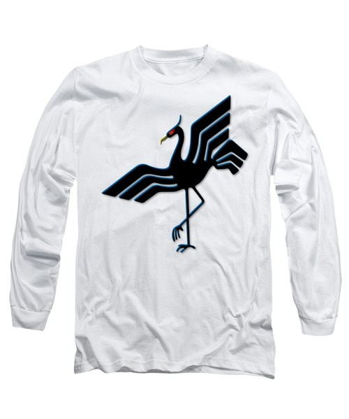 Stork Long Sleeve T-Shirt by Frederick Holiday