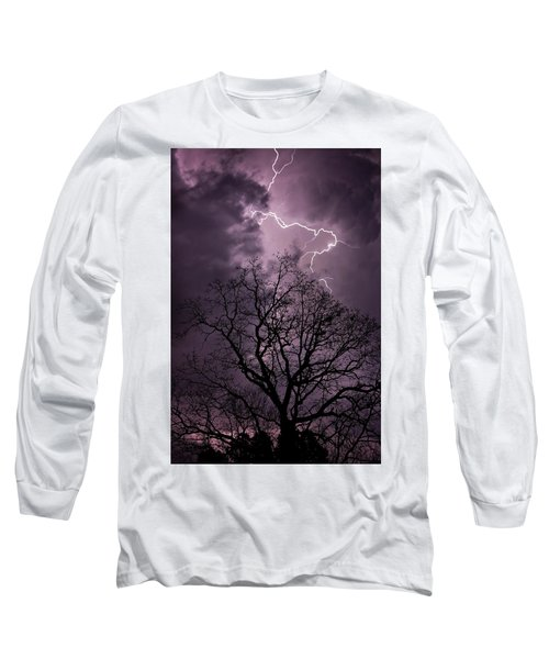 Stormy Night Long Sleeve T-Shirt