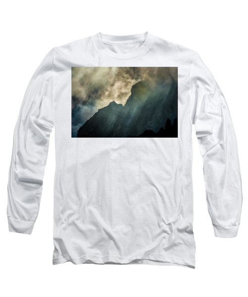 Stormy Wasatch- Rays Long Sleeve T-Shirt