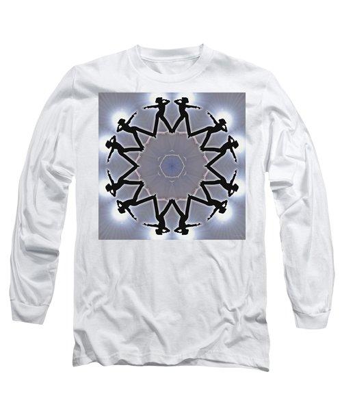Long Sleeve T-Shirt featuring the digital art Straight Shooter by Derek Gedney