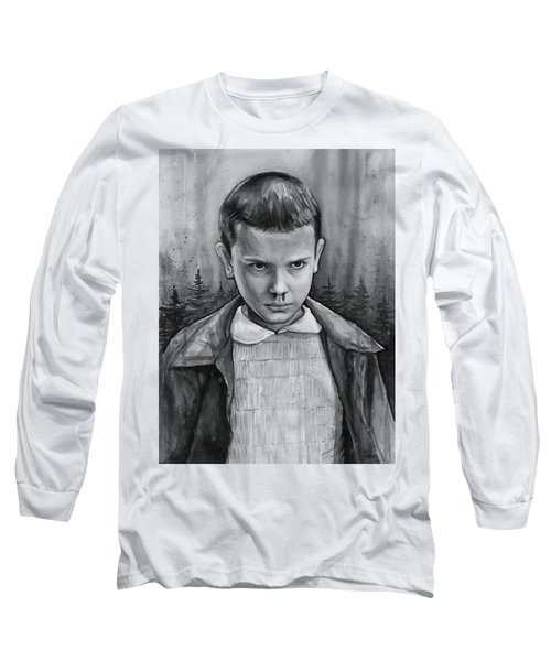 Stranger Things Fan Art Eleven Long Sleeve T-Shirt