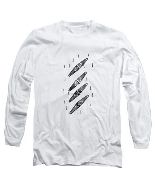 Strap Hinges And Screws Long Sleeve T-Shirt by YoPedro
