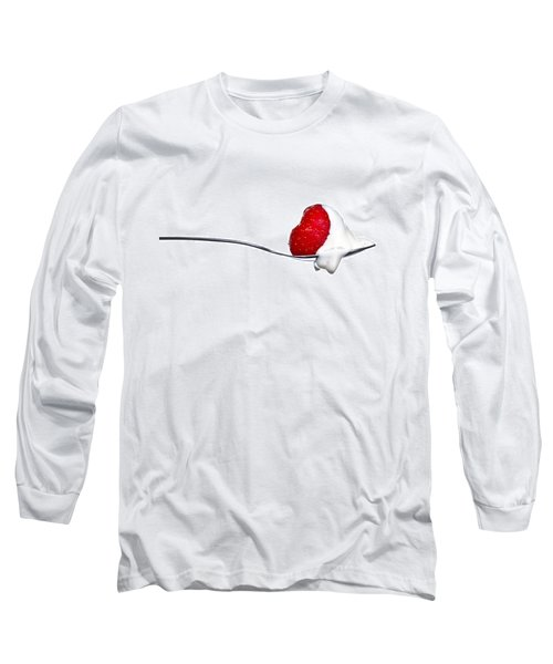 Strawberry And Cream Long Sleeve T-Shirt