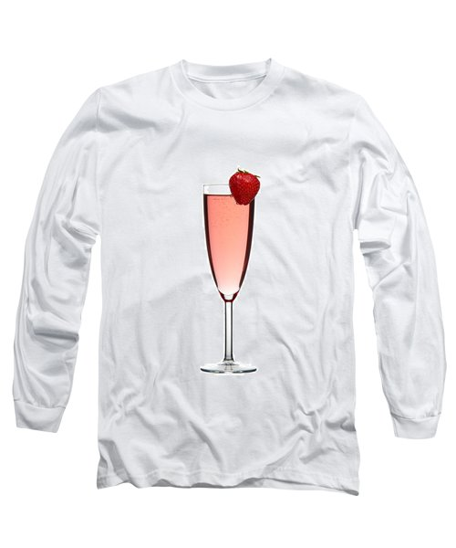 Strawberry Champagne Long Sleeve T-Shirt