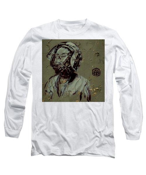 Long Sleeve T-Shirt featuring the painting Street Art by Sheila Mcdonald