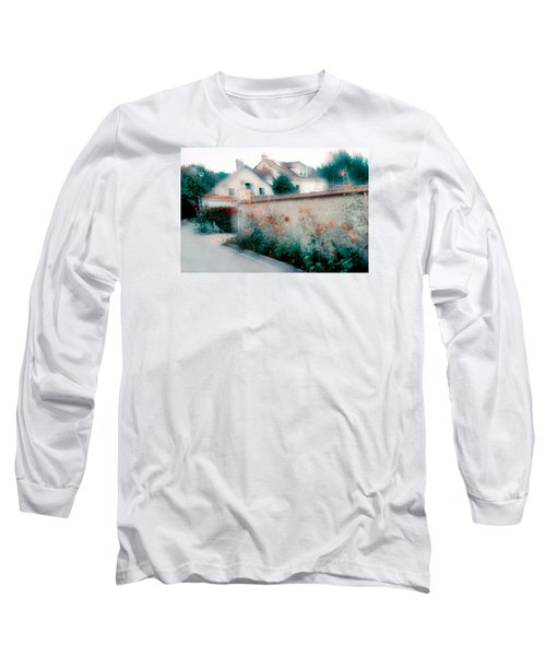 Street In Giverny, France Long Sleeve T-Shirt